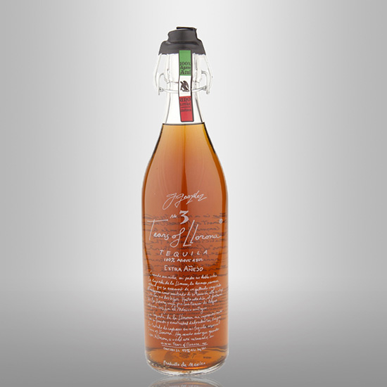 Strictly Sipping Tequila: Tears of Llorona Extra Añejo, $230