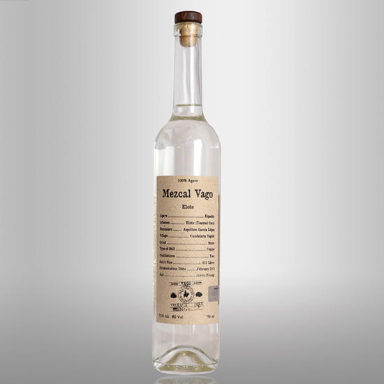 Strictly Sipping Mezcal: Mezcal Vago Elote, $54