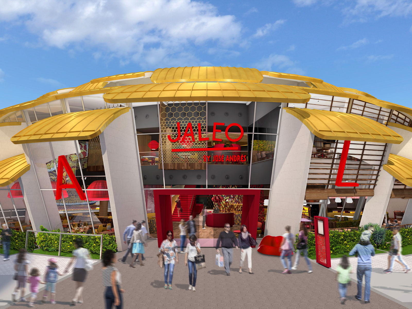Jaleo at Disney Springs Will Look Like a Giant Artichoke
