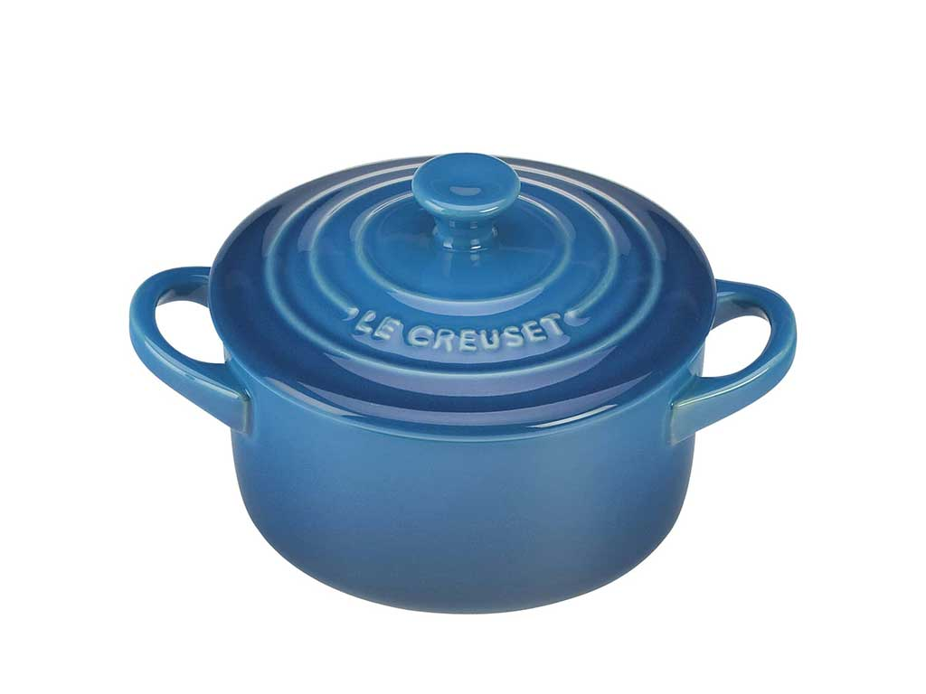 Le Creuset mini pot