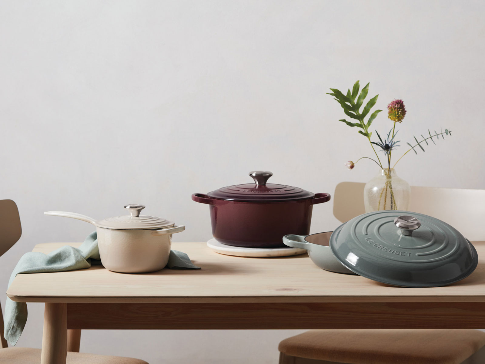 Le Creuset Releases 3 Calming New Colors for Spring