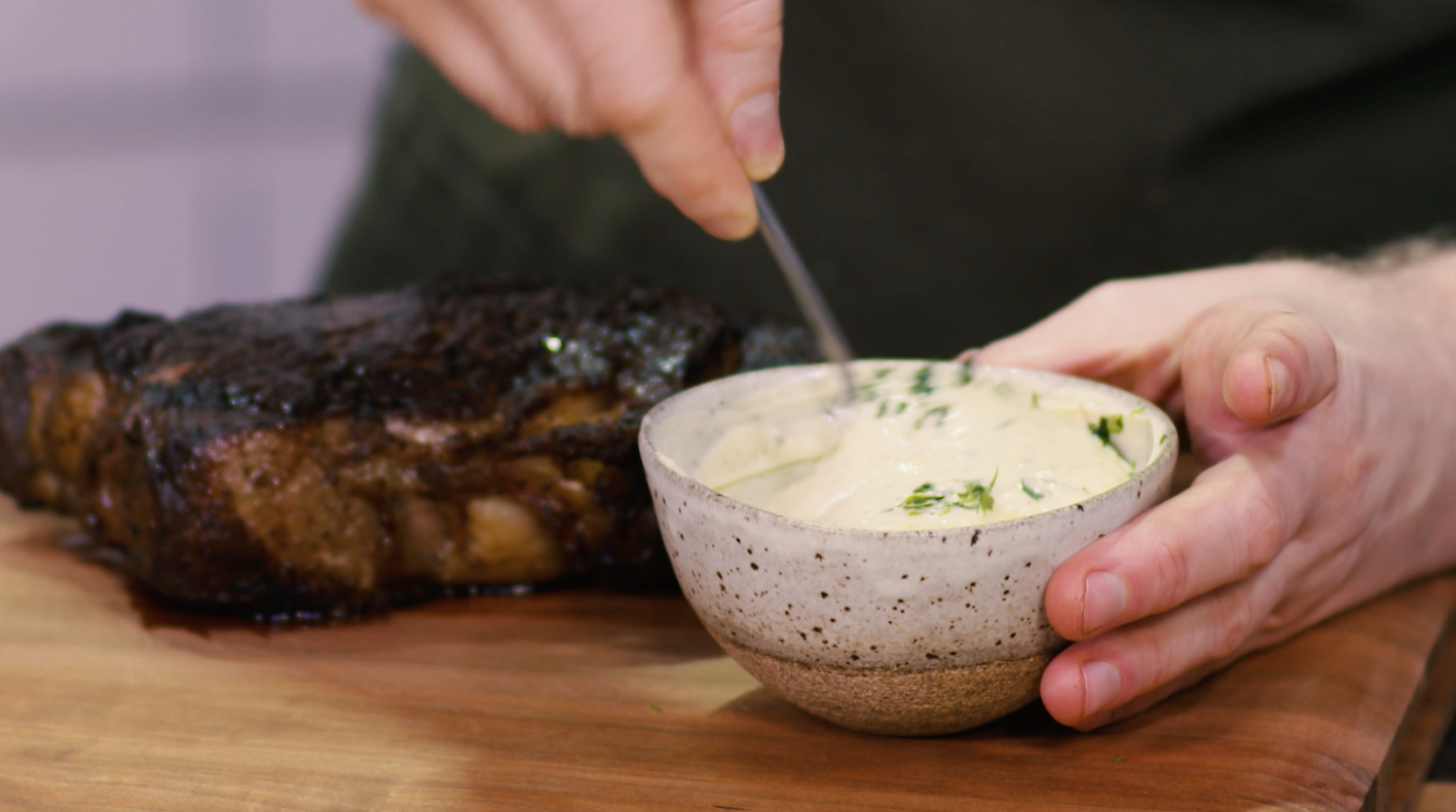 The Easiest Way to Make Bearnaise Sauce