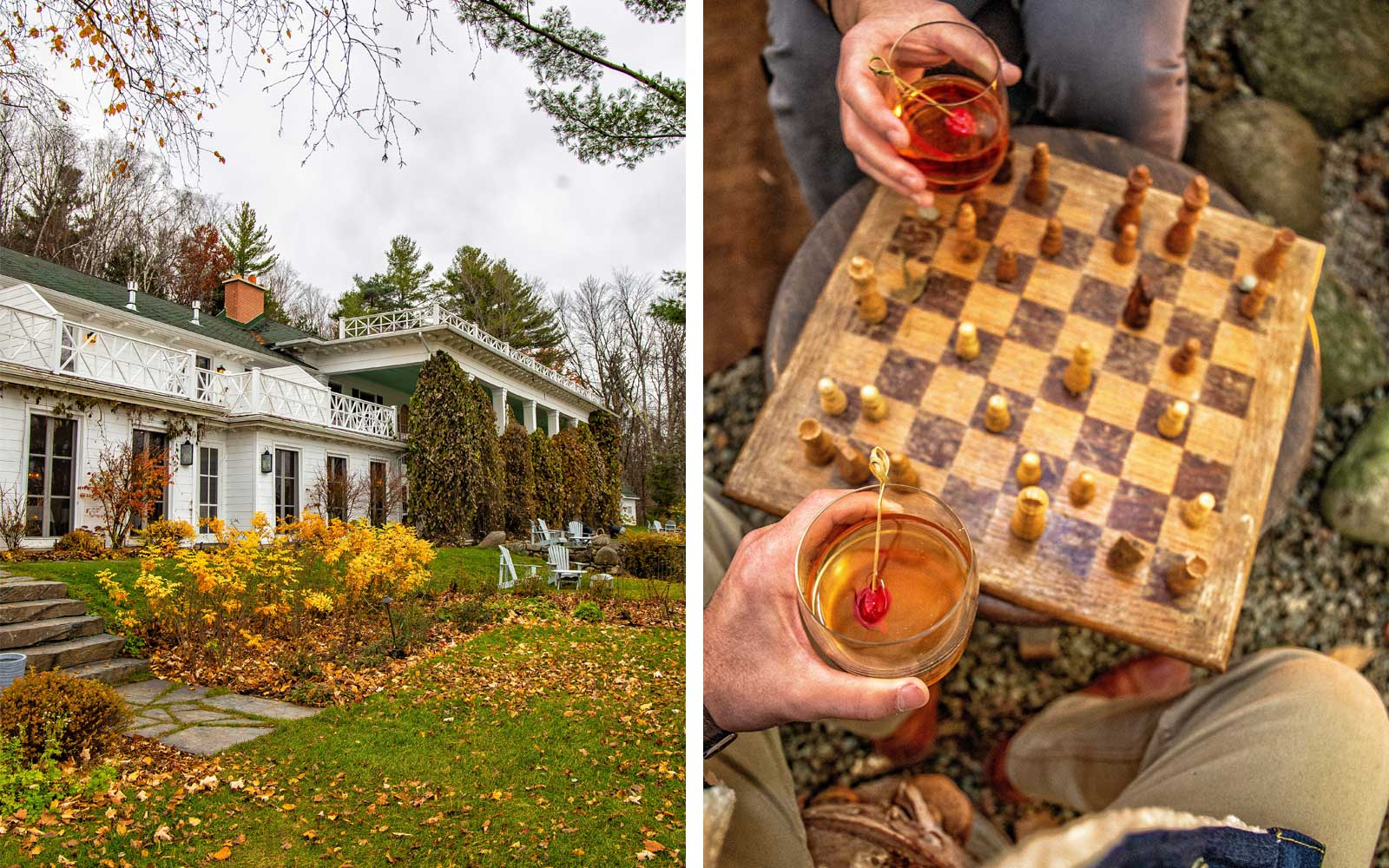 Canada's Coziest Getaway Includes Fireside Chess, Hard Cider with Monks, and the Best Grilled Cheese