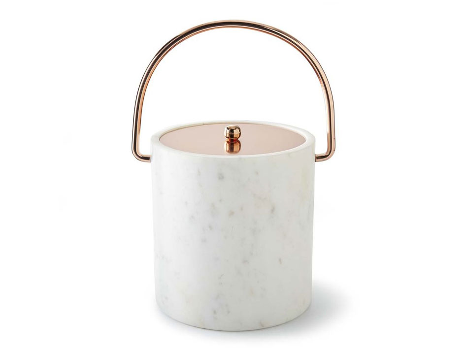 Marble Copper Ice Bucket