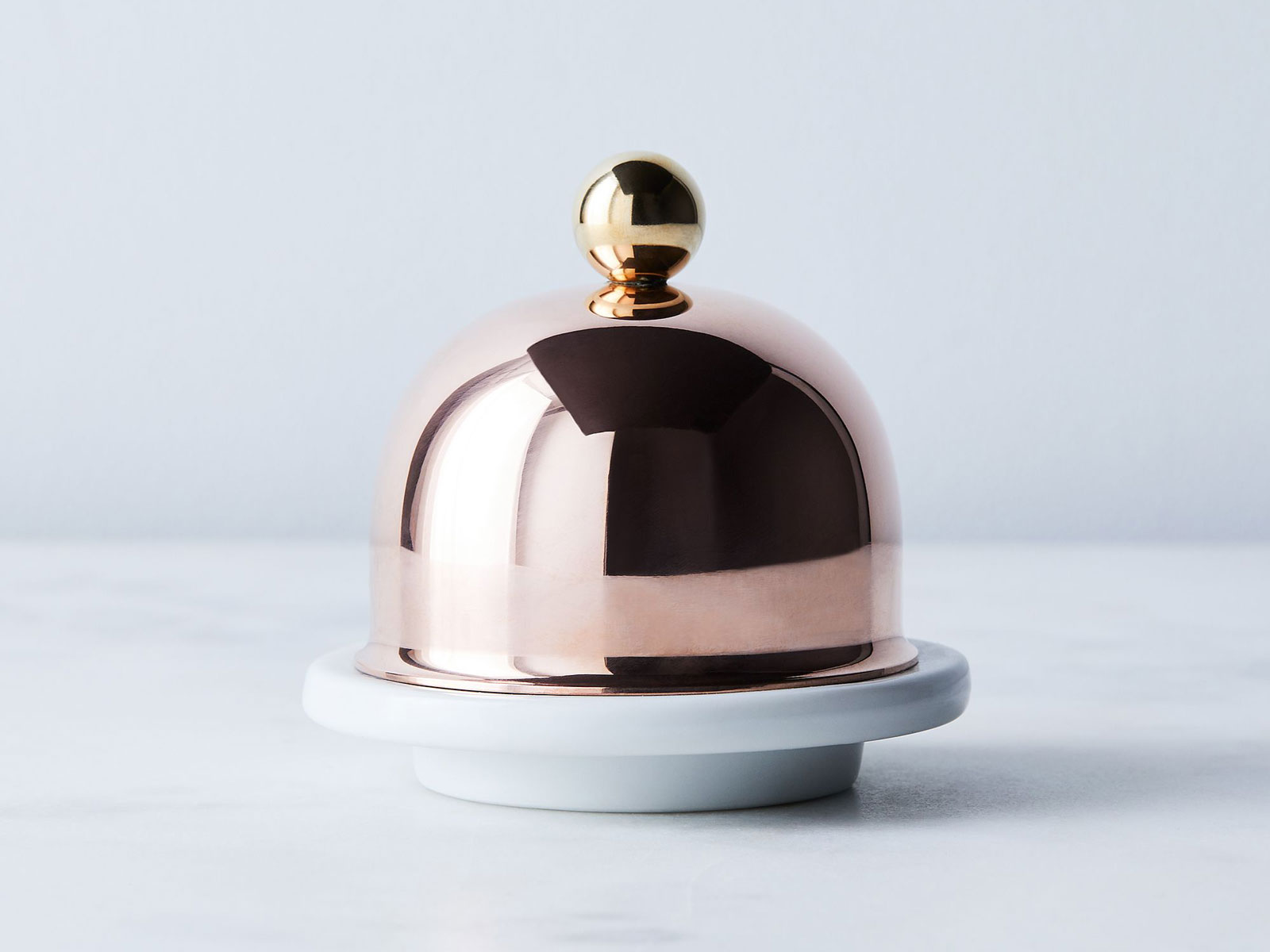 Mauviel Butter Dish