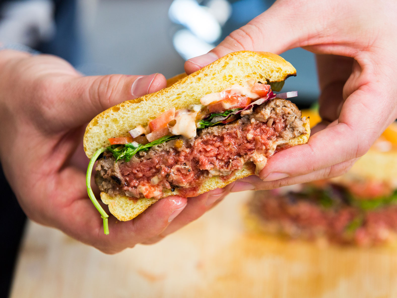 New Impossible Burger Recipe