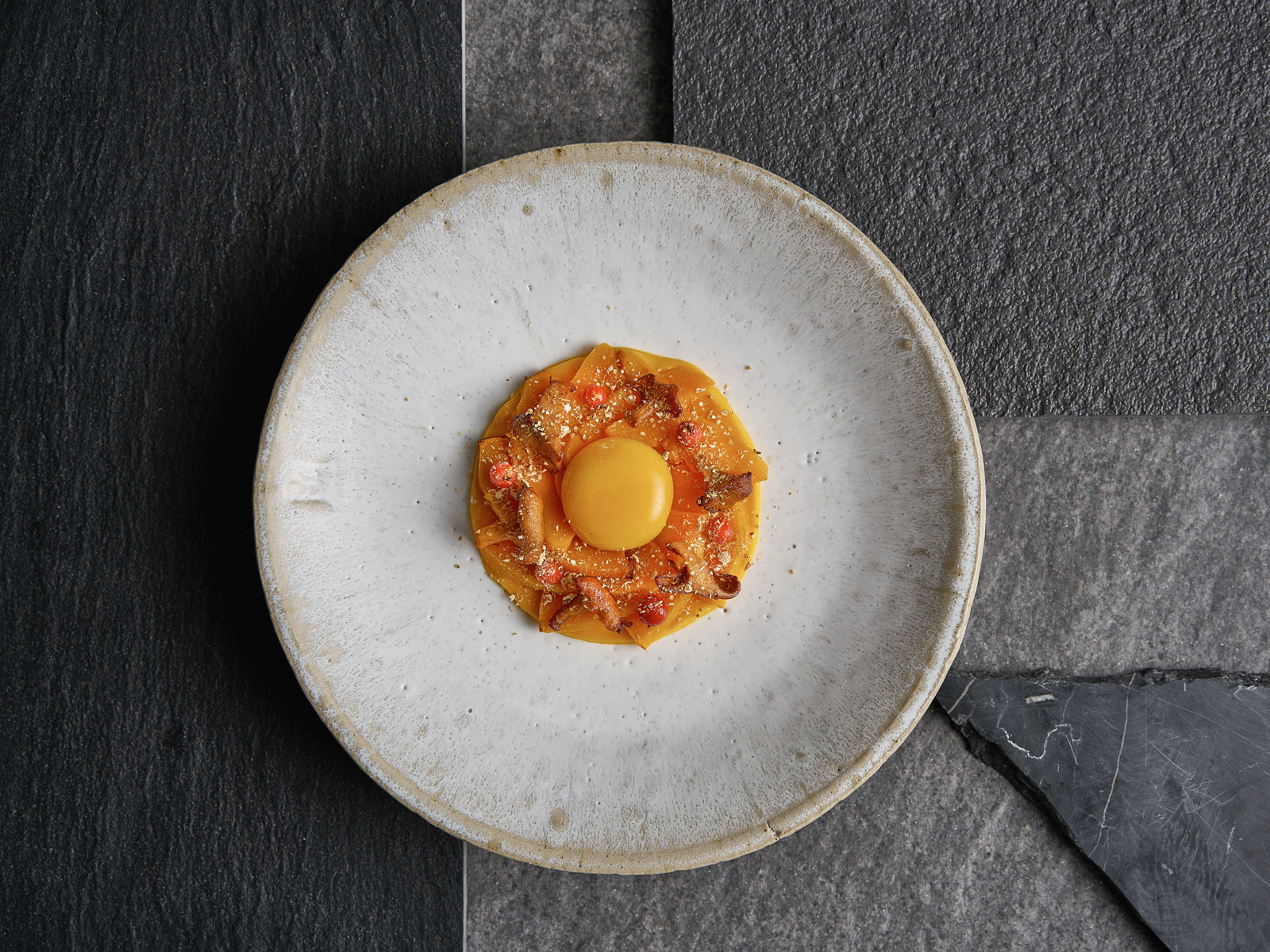 Pumpkin with Egg Yolk