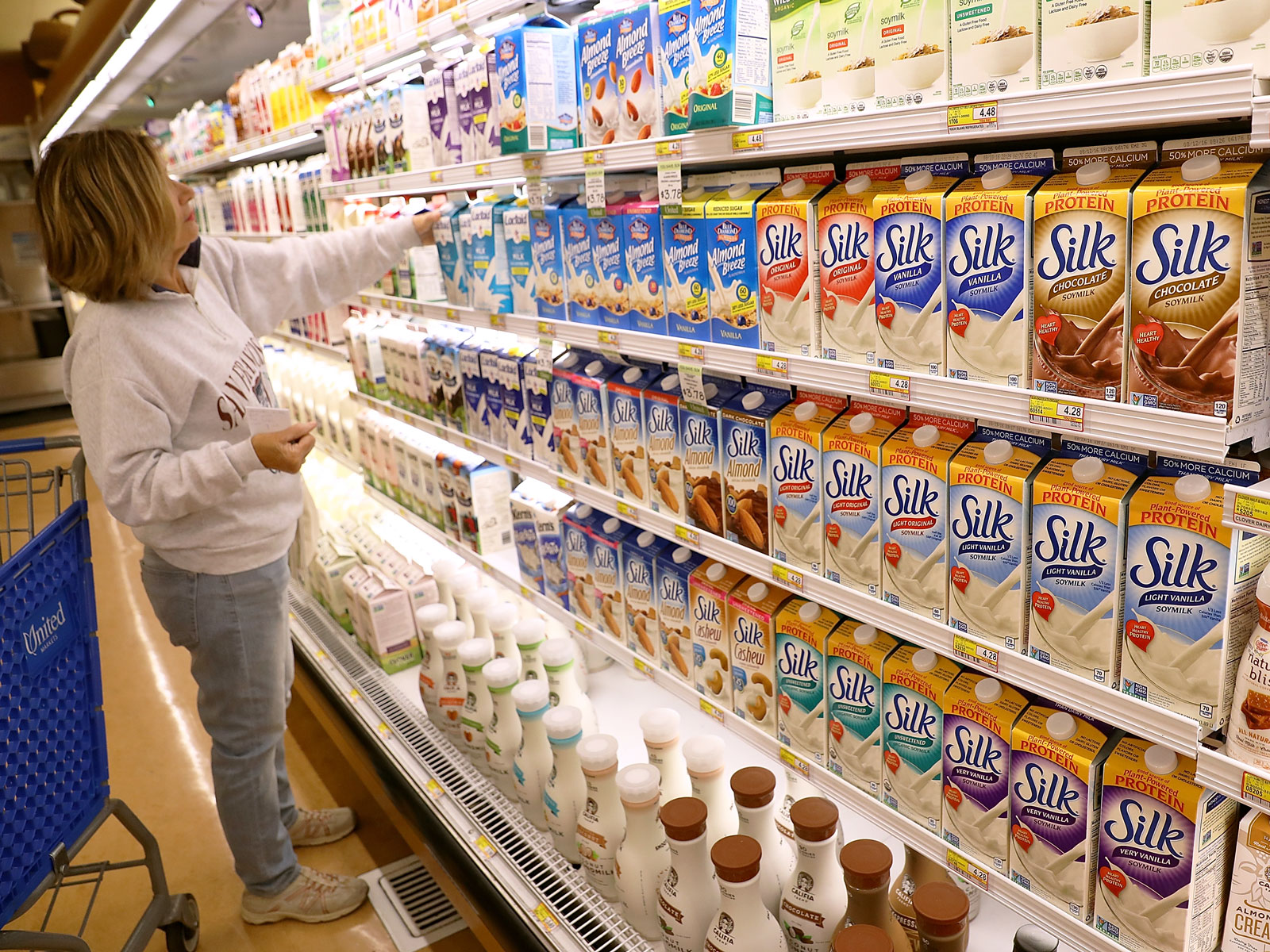 Nearly Half of Shoppers Buy Both Dairy and Plant-Based Milk, Survey Says