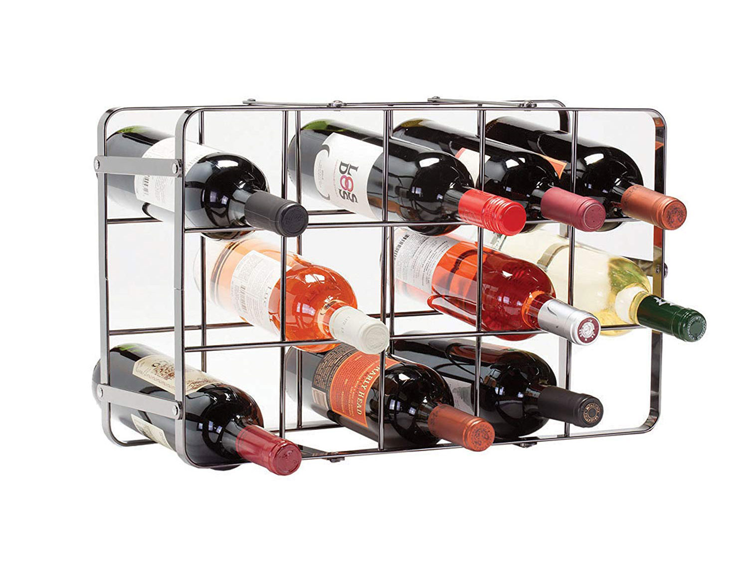 Oenophilia Black Pearl Wine Rack