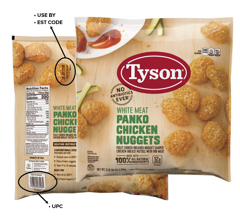 Tyson Foods Recalls 18 Tons of Chicken Nuggets After Reports of Contamination