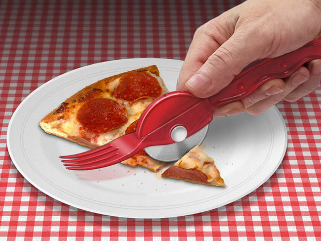 You Can Buy a Combo Fork-and-Pizza-Cutter on Kickstarter