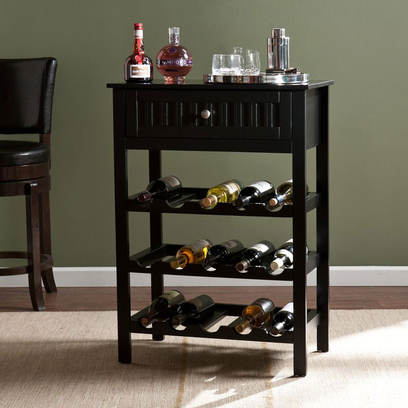 Raabe 15 Bottle Floor Wine Bottle Rack