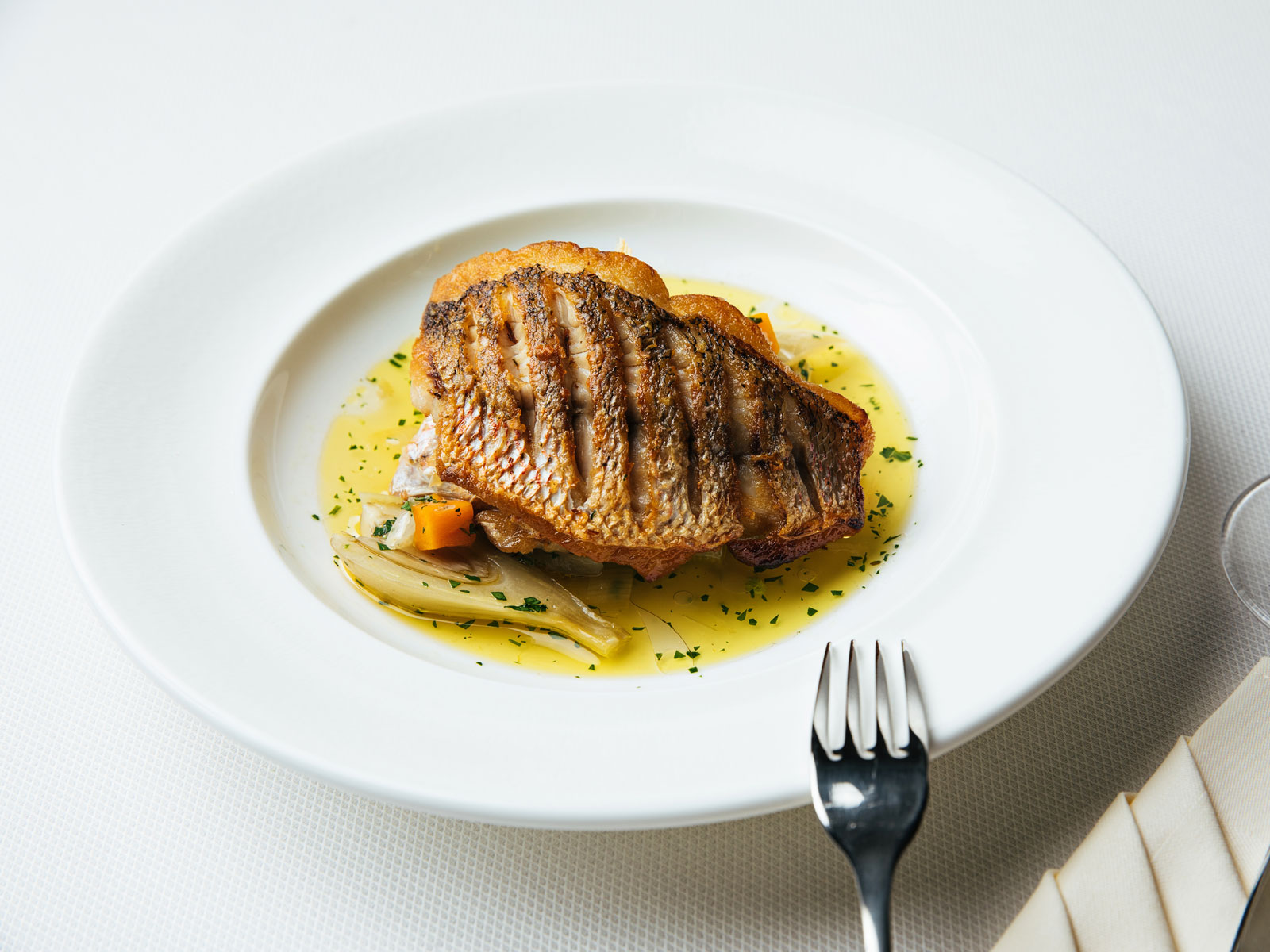 Red Snapper Barigoule