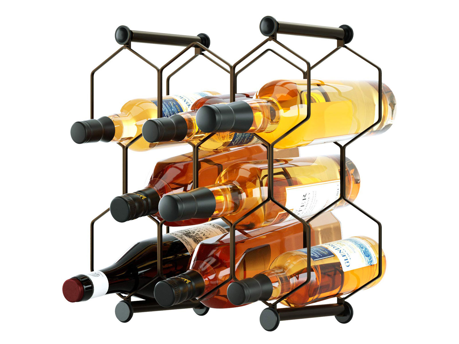 RooLee Tabletop Wine Rack