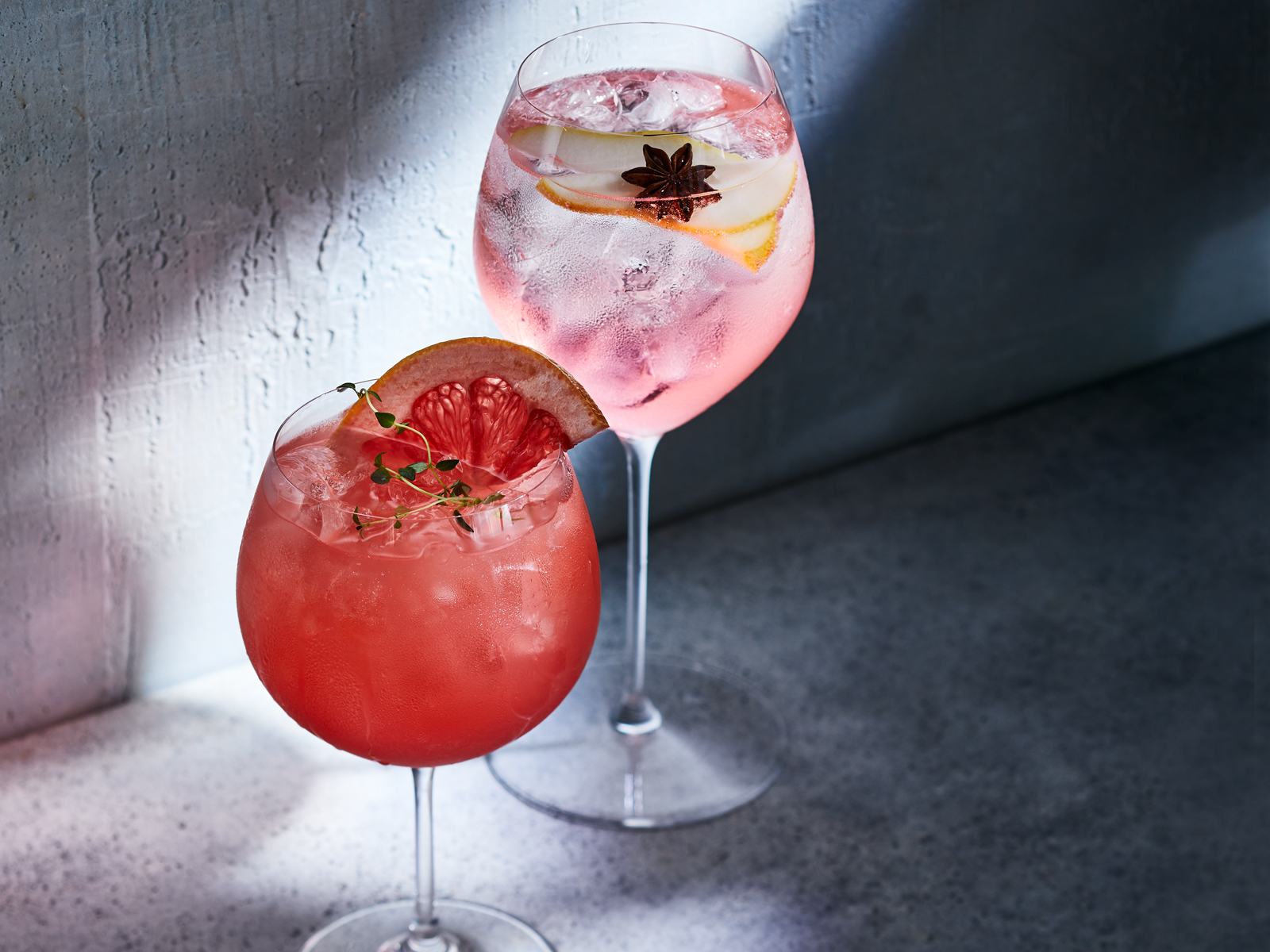 Spiced Pear Spritz and Ruby Red Spritz Recipe