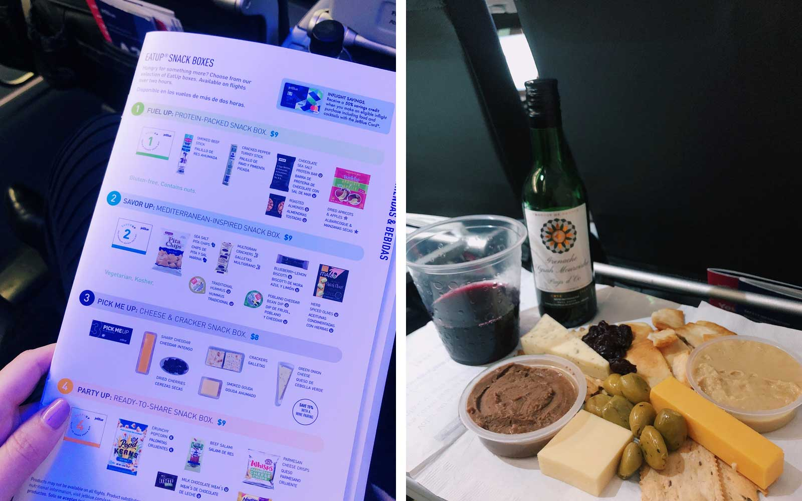 One JetBlue Passenger Created the Most Over-the-top Cheese Plate Using Only Airplane Snacks
