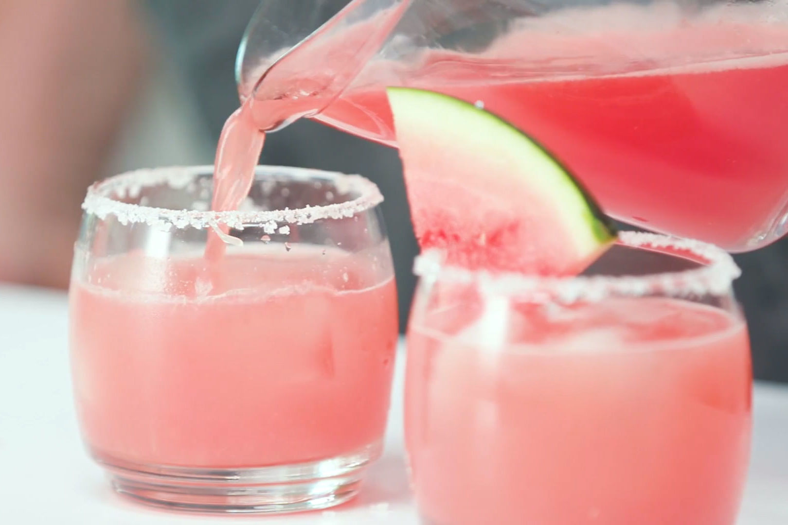 The Secret To Making The Best Watermelon Margarita