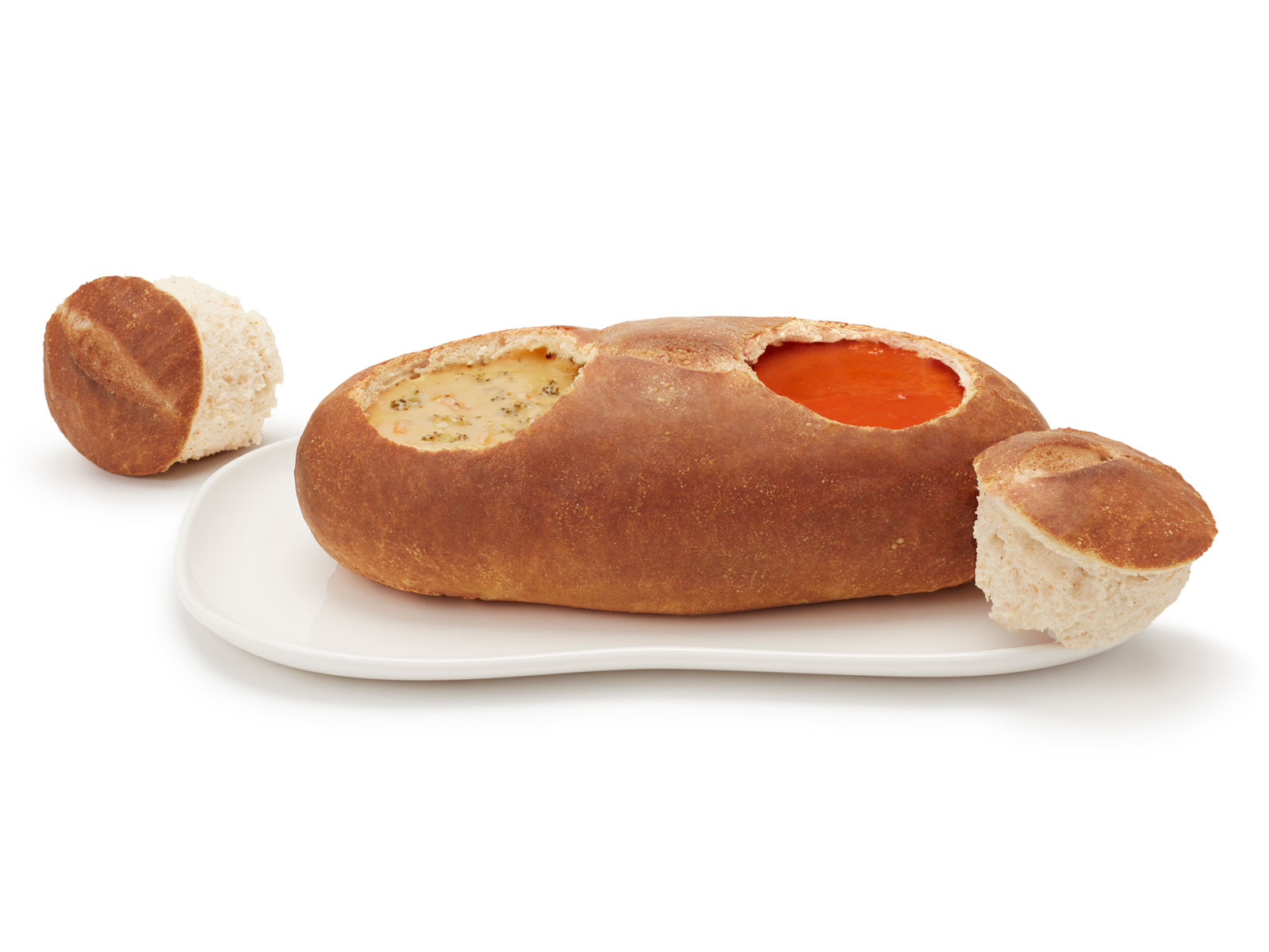 Double Bread Bowl