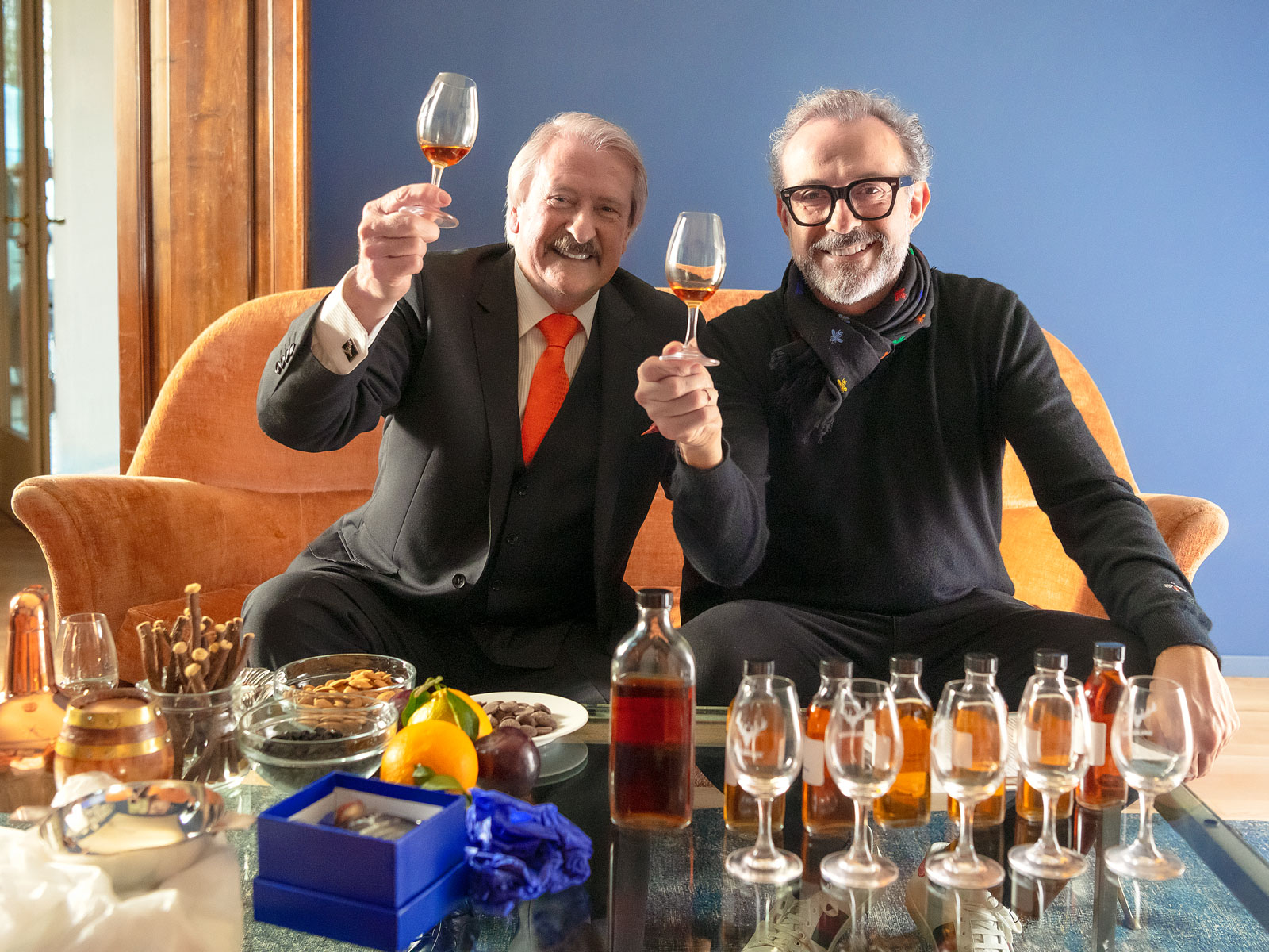 Massimo Bottura Debuts 49-Year-Old Scotch Whisky for Charity