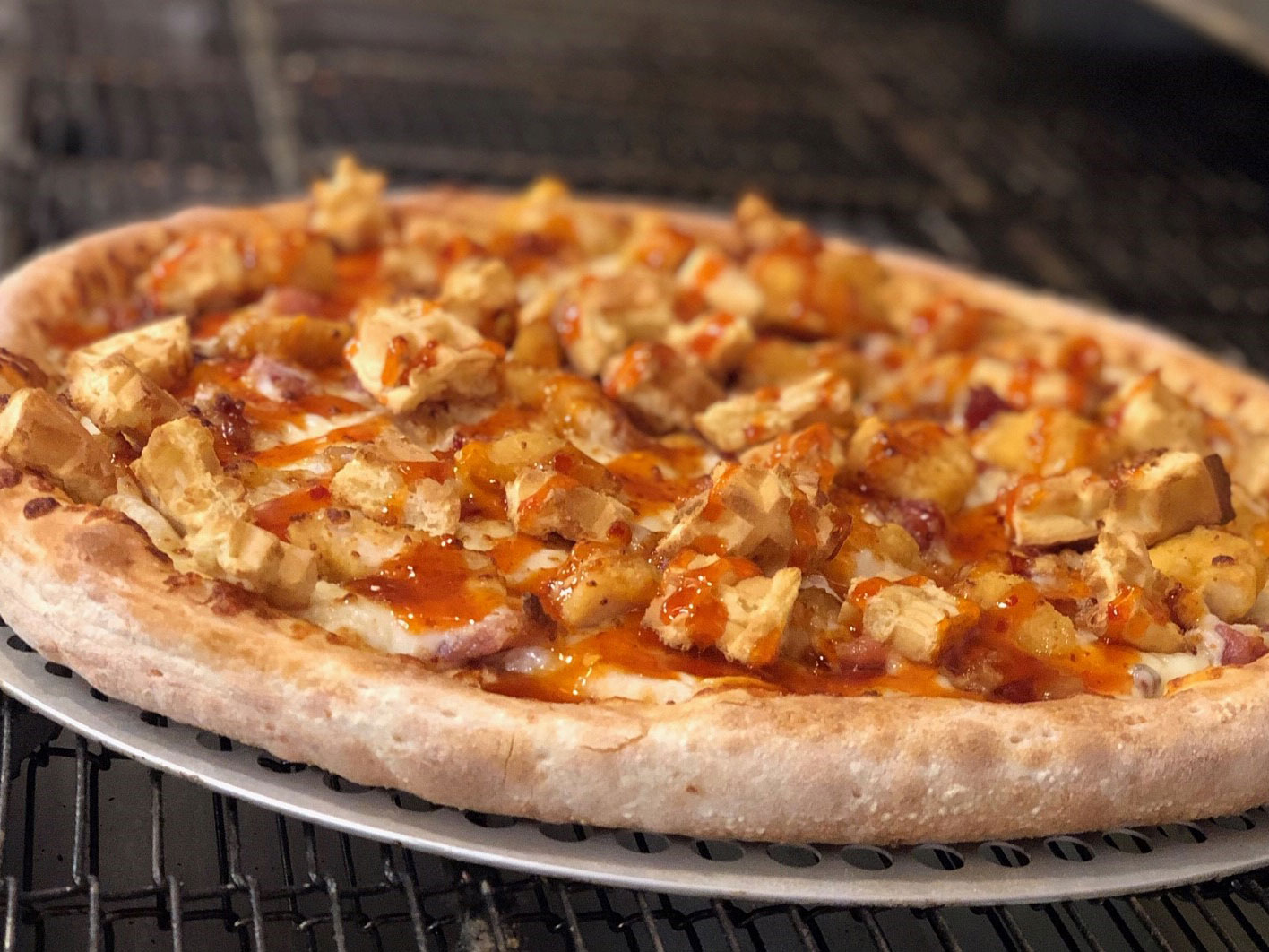 Papa John's to Put Chicken and Waffles Pizza on the Menu