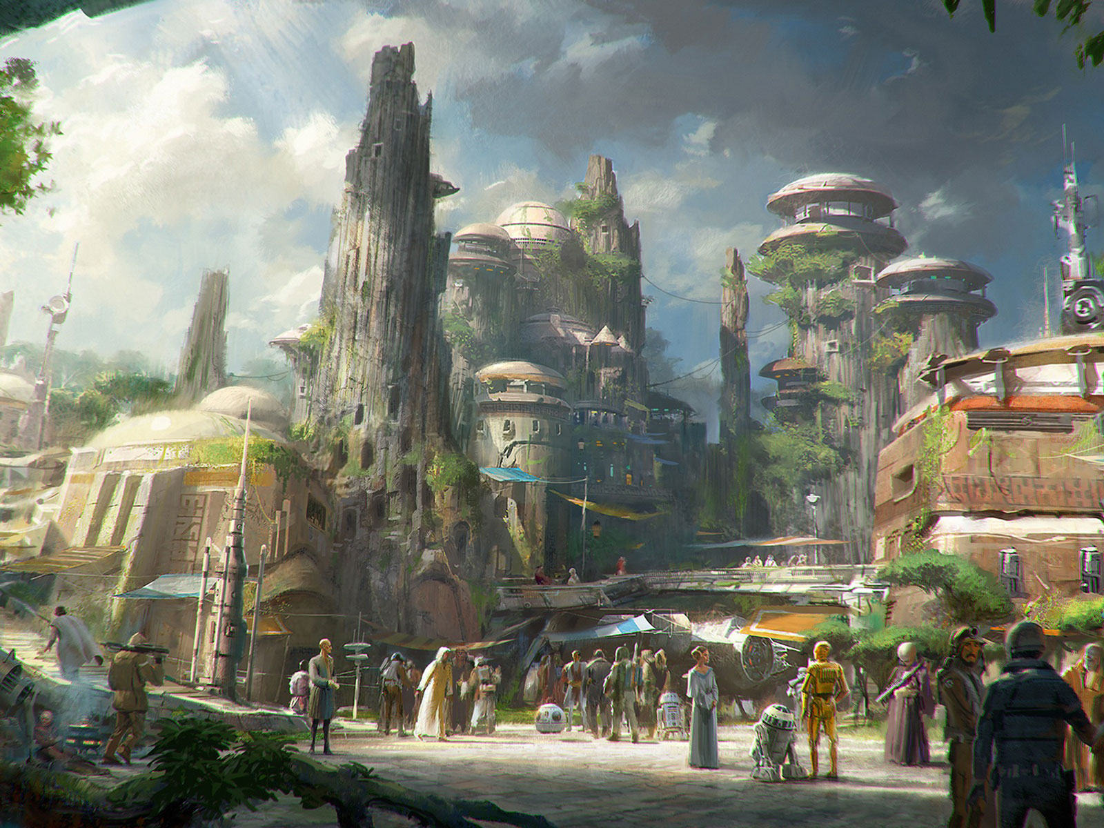 All of the Otherworldly Food Coming to Disney's Star Wars: Galaxy's Edge