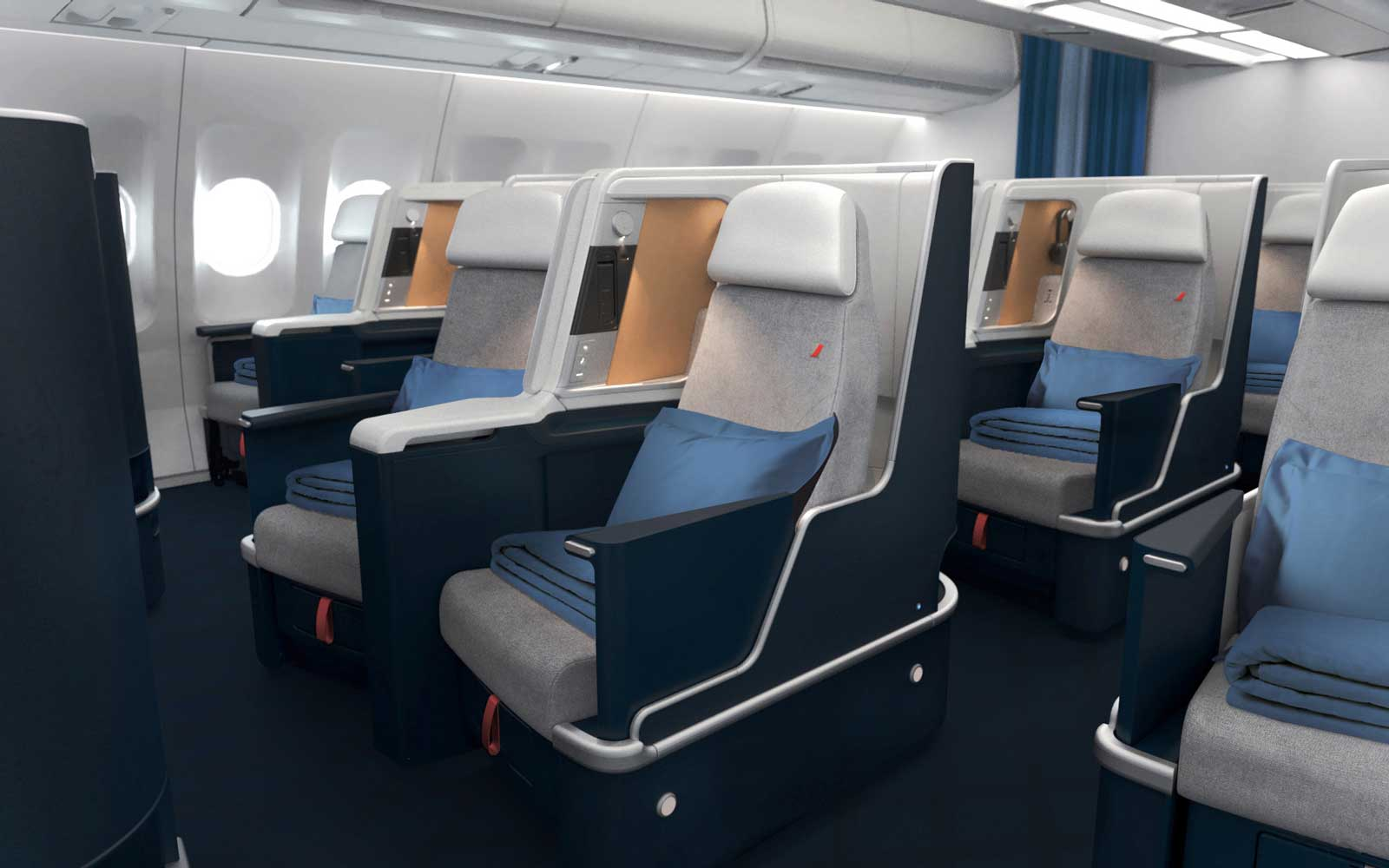 Air France Unveils New Business Class Cabin