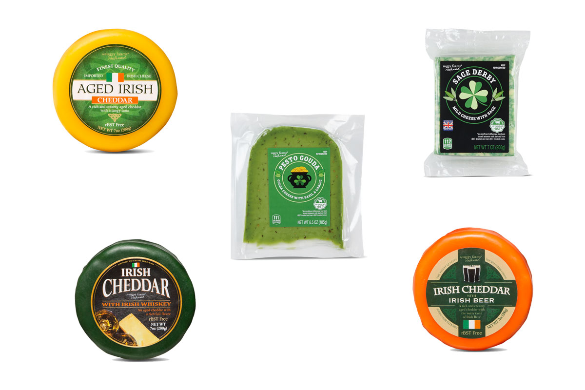 Aldi Debuts Green and Alcohol-Infused Cheeses For St. Patrick's Day
