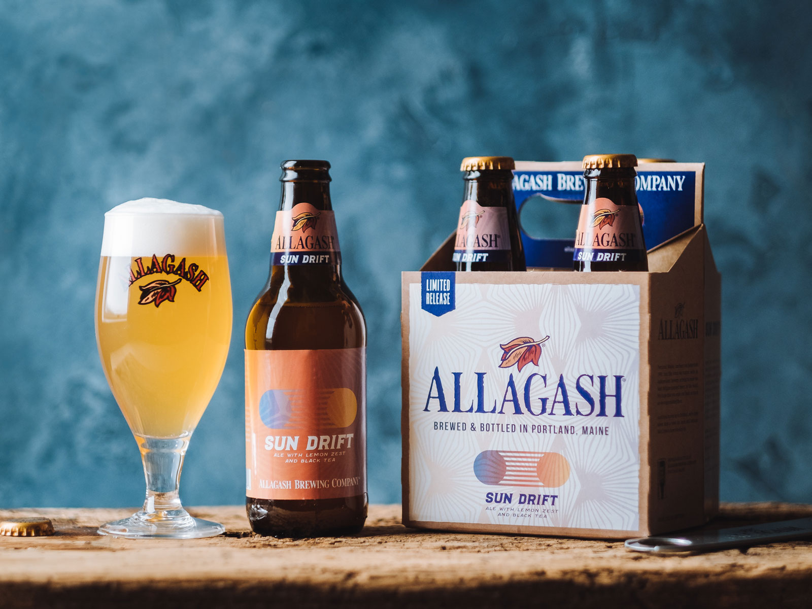 Allagash Releases Tea Beer Well Ahead of Summer Weather