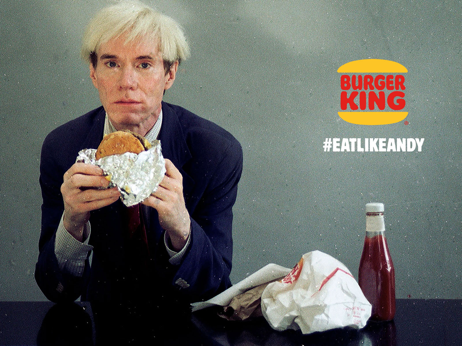 How Burger King Turned Andy Warhol Eating a Whopper into the Anti-Super Bowl Ad