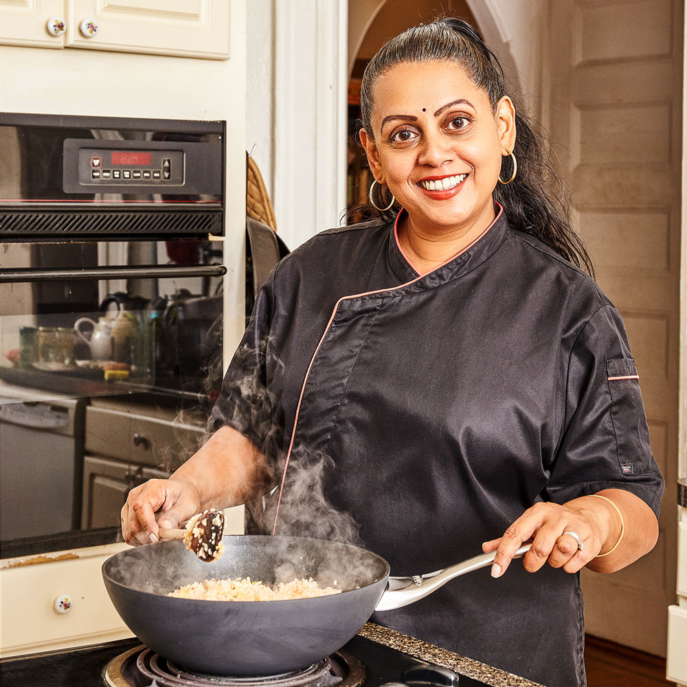 How Auria Abraham Became New York City's 'Sambal Lady'