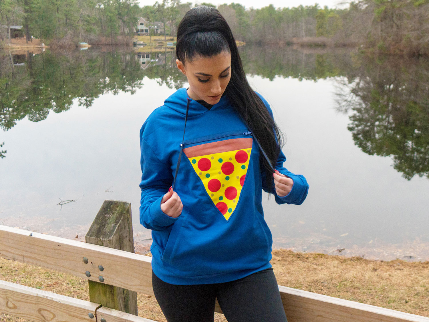 The 'Pizza Pocket Hoodie' Has a Built-In Pouch to Hold a Warm Slice