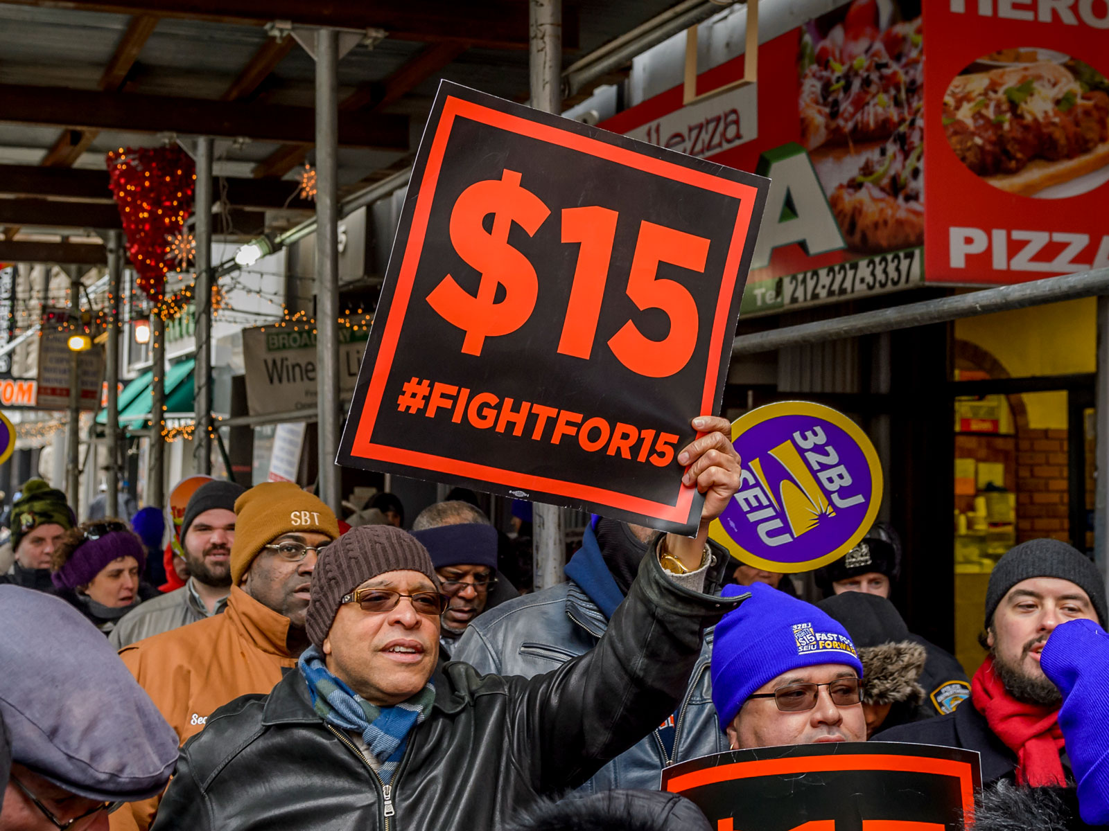Why You Might See More 'Fight for $15' Buttons at Fast Food Restaurants