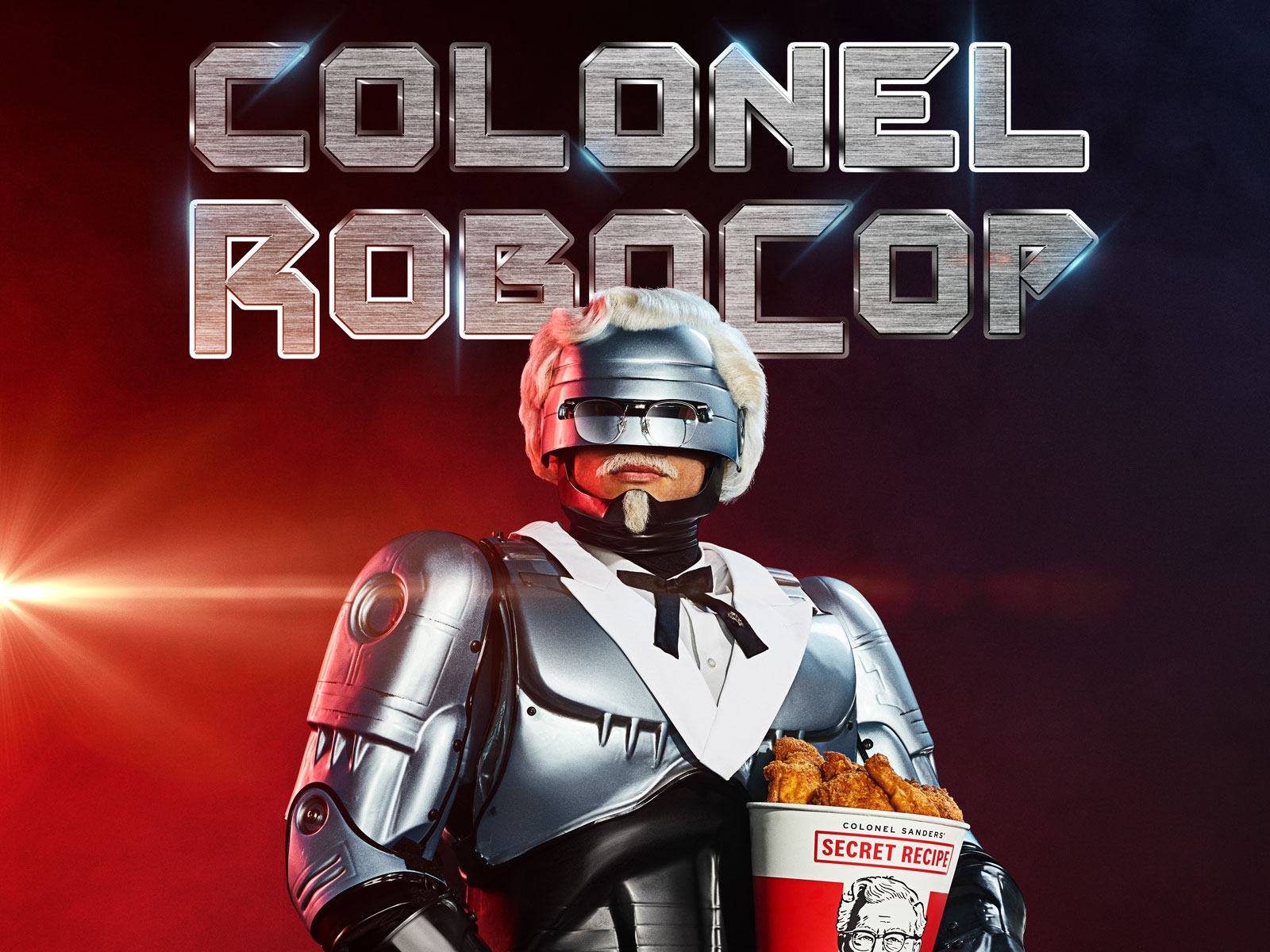 KFC Hires RoboCop as Colonel Sanders, Doubles Down on Secret Recipe Security