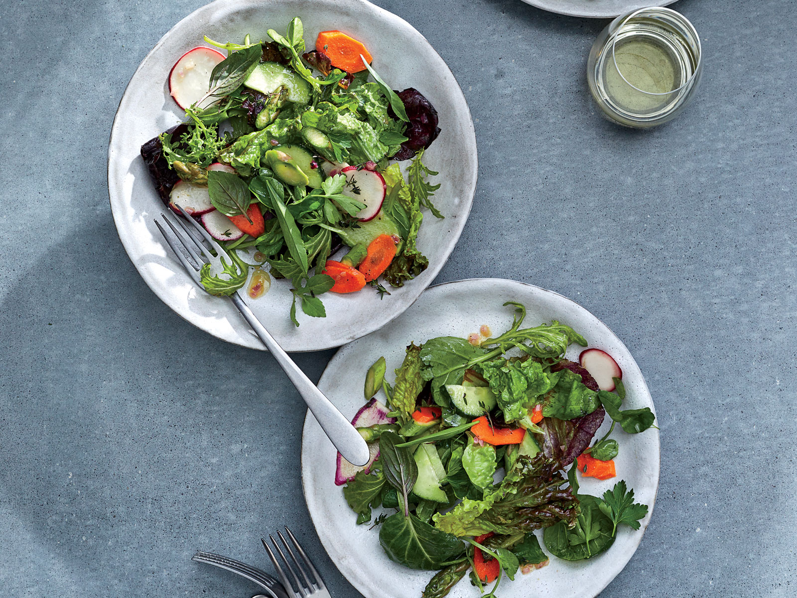 How to Build the Perfect Green Salad