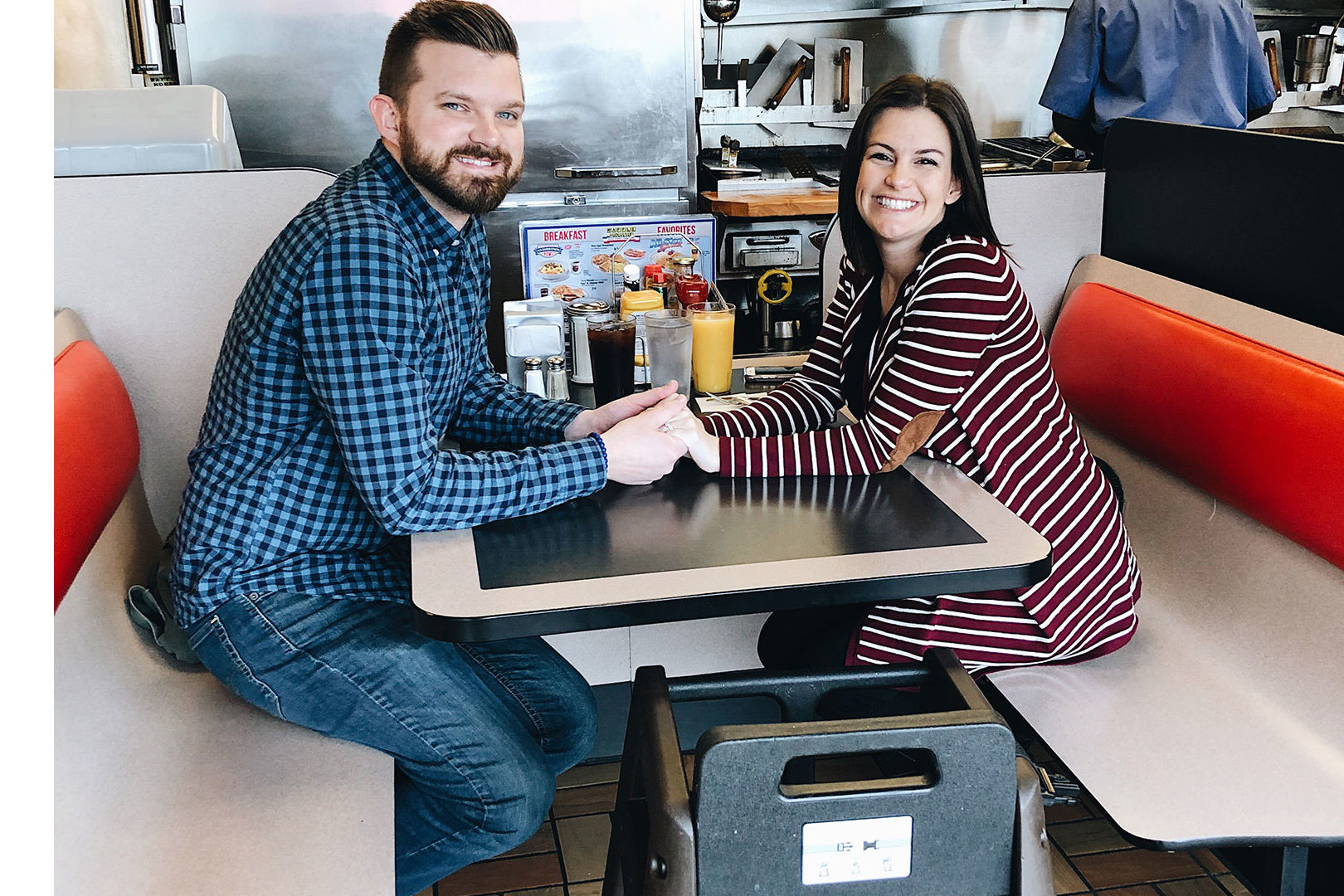 This Waffle House Pregnancy Announcement Will Smother and Cover Your Heart