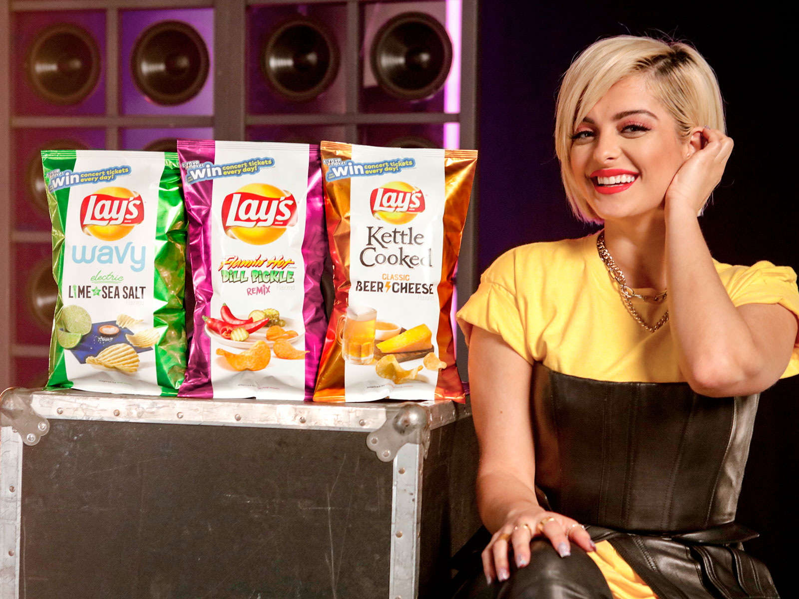 Lay's Turn Up the Flavor Bebe Rexha