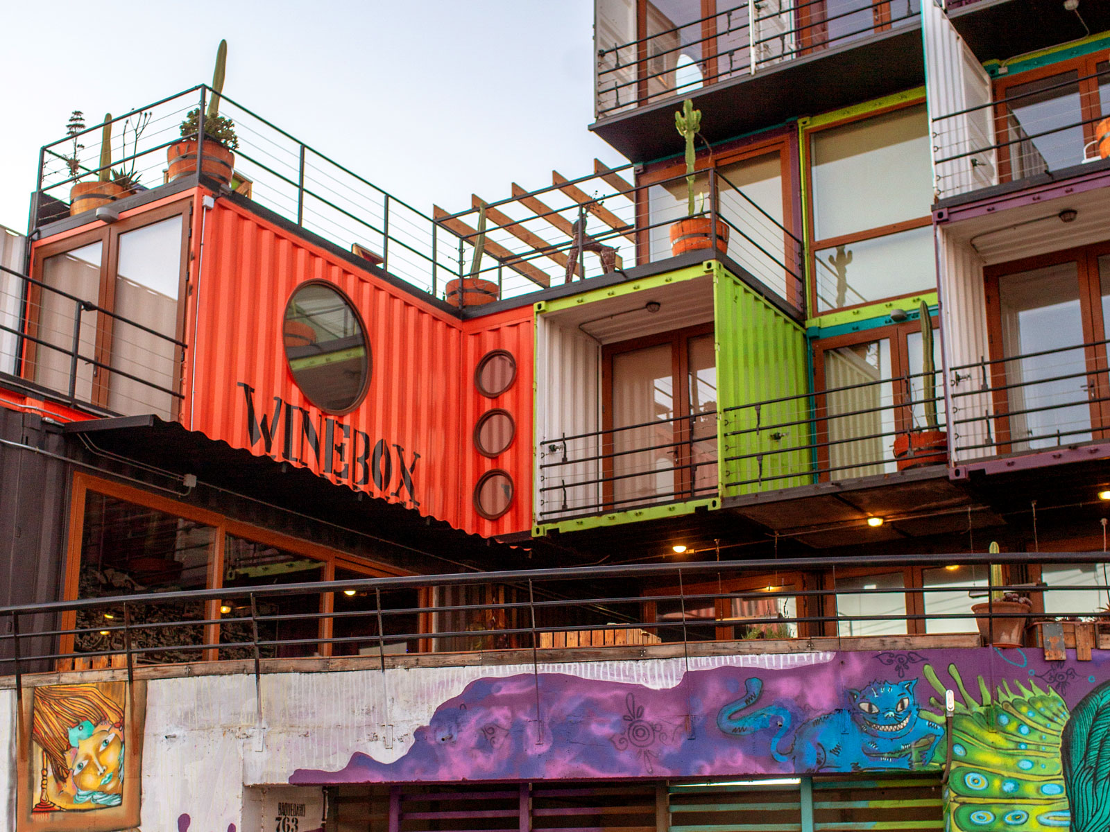 Inside the World's First Wine-Graffiti Festival in Valparaíso, Chile