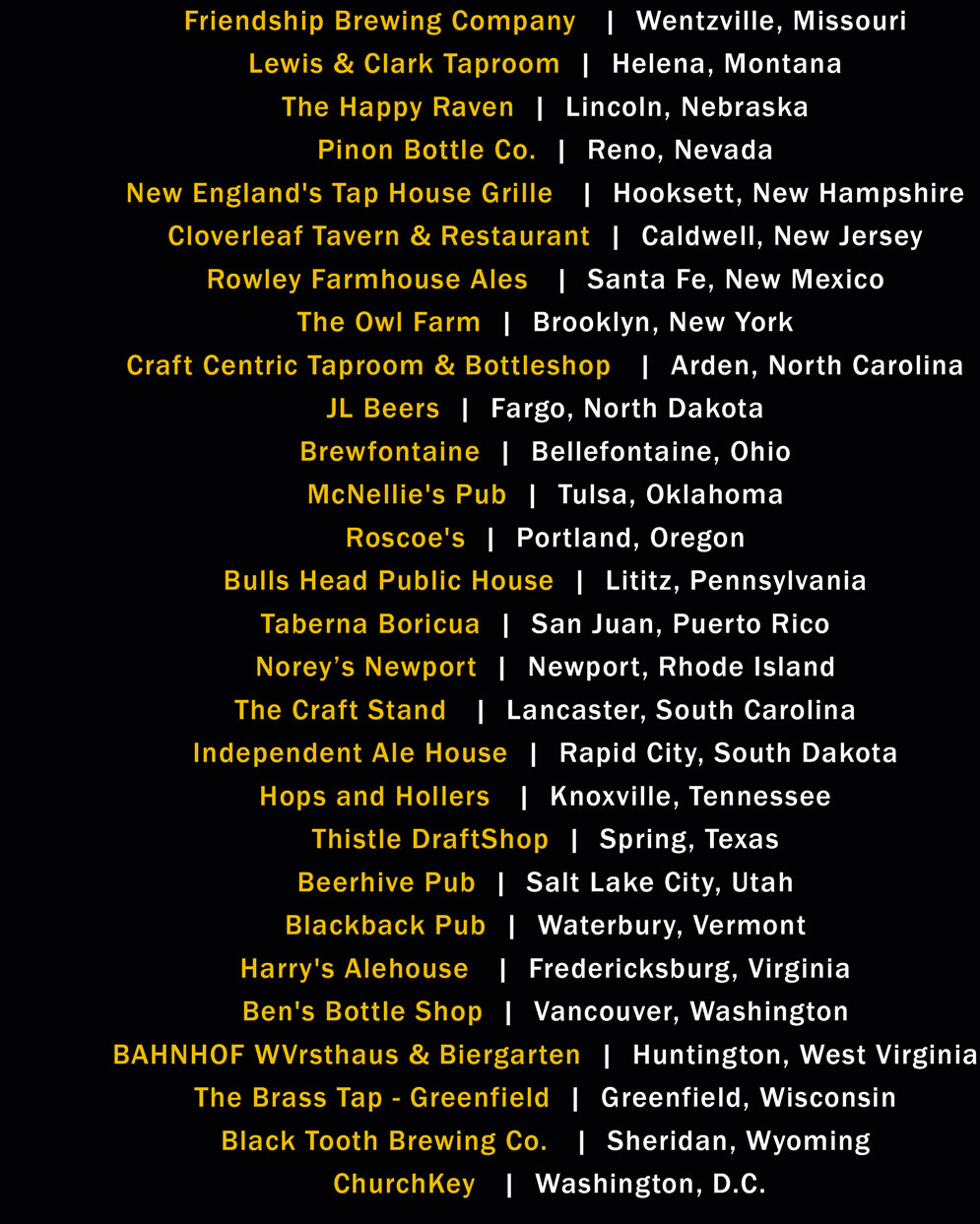 The Best Beer Bar in Every State, According to CraftBeer.com