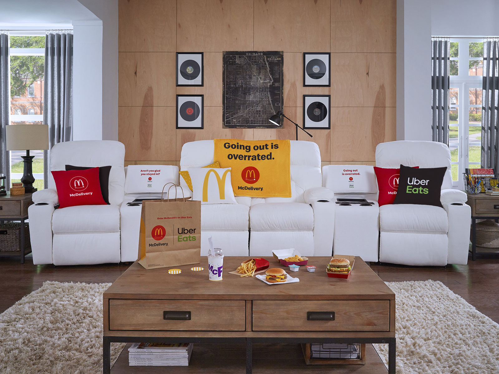 McDonald's La-Z-Boy Sofa Has a McFlurry Refrigerator Built In