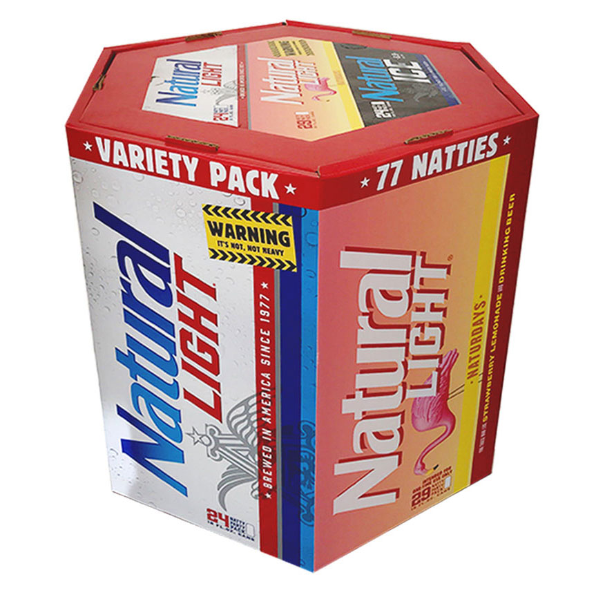77-Packs Featuring Natural Light's New Strawberry Lemonade Beer Have Arrived