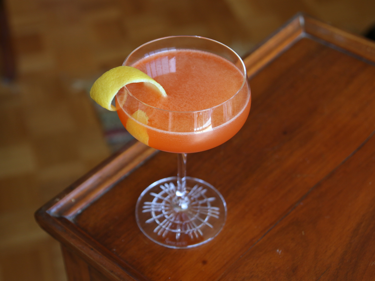 Bitter orange cocktail
