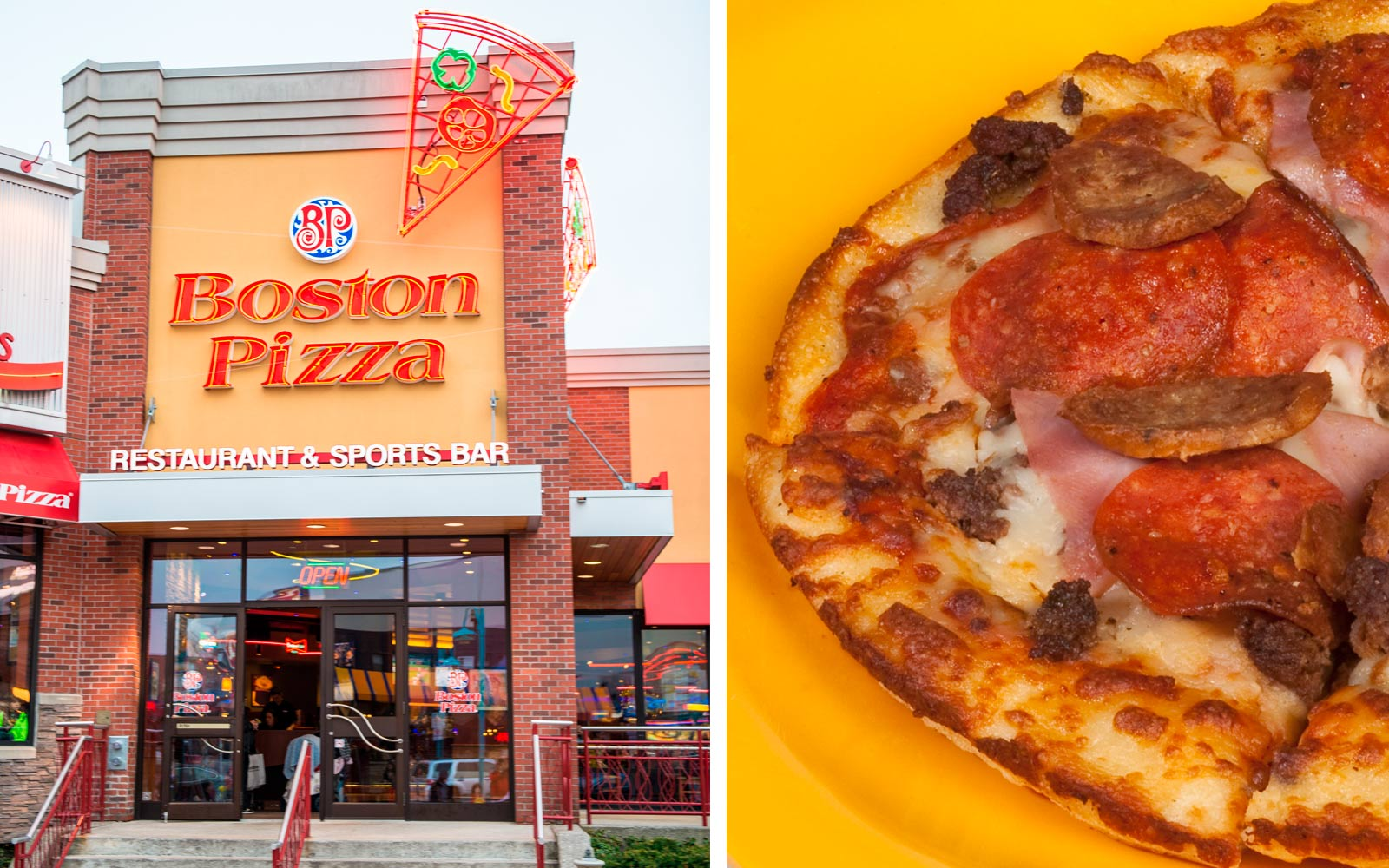 The Curious Story of How a Restaurant Chain Called 'Boston Pizza' Ended Up in Canada