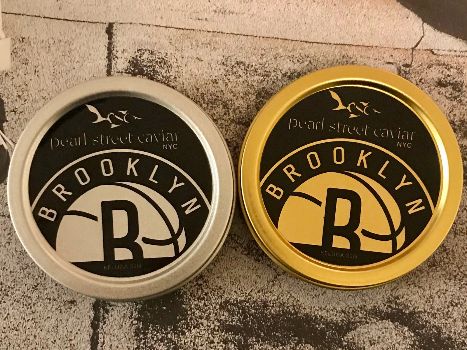 NBA-Branded Caviar Hopes to Be the Way Cooler Gatorade