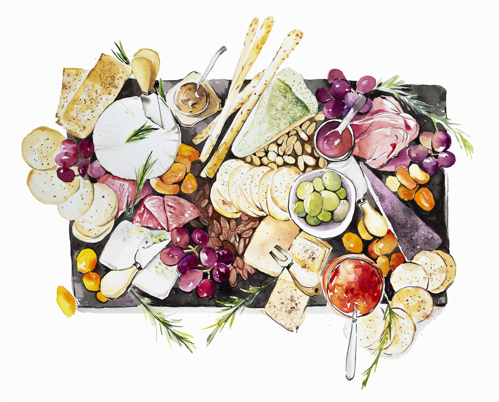This Instagram Account Will Show You How to Make Cheese Boards Like a Food Stylist