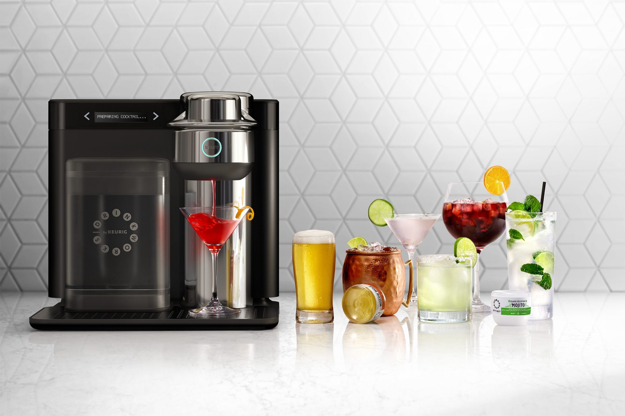 Keurig and Anheuser-Busch Are Preparing K-Cups for Cocktails