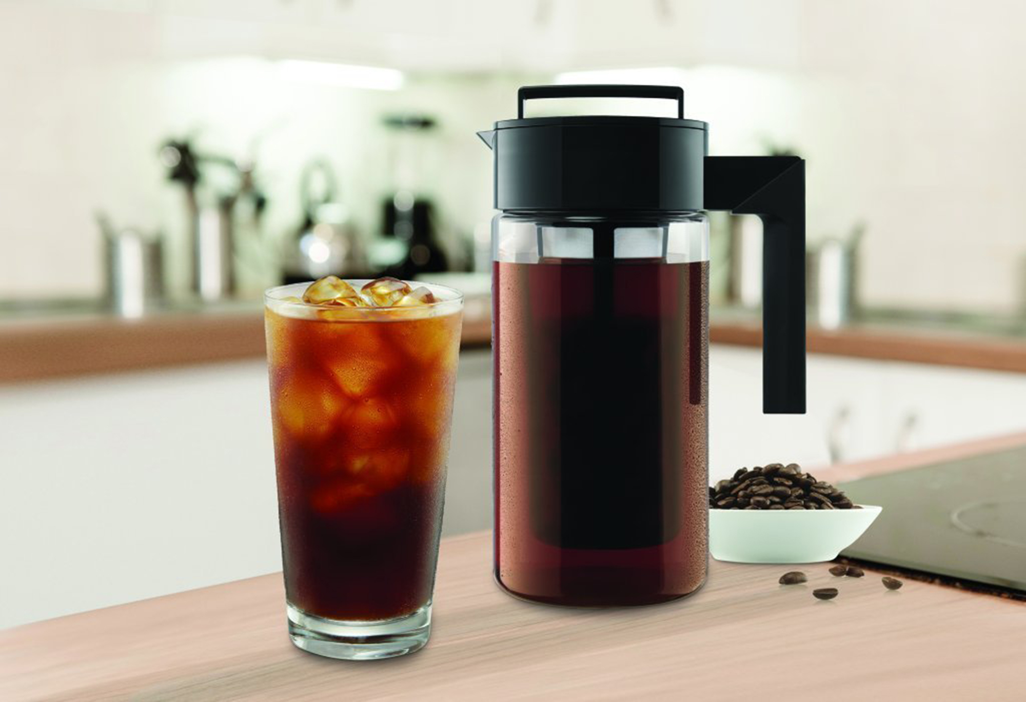 Over 1,800 Amazon Customers Swear by This Cold Brew Coffee Maker—And It's Only $25