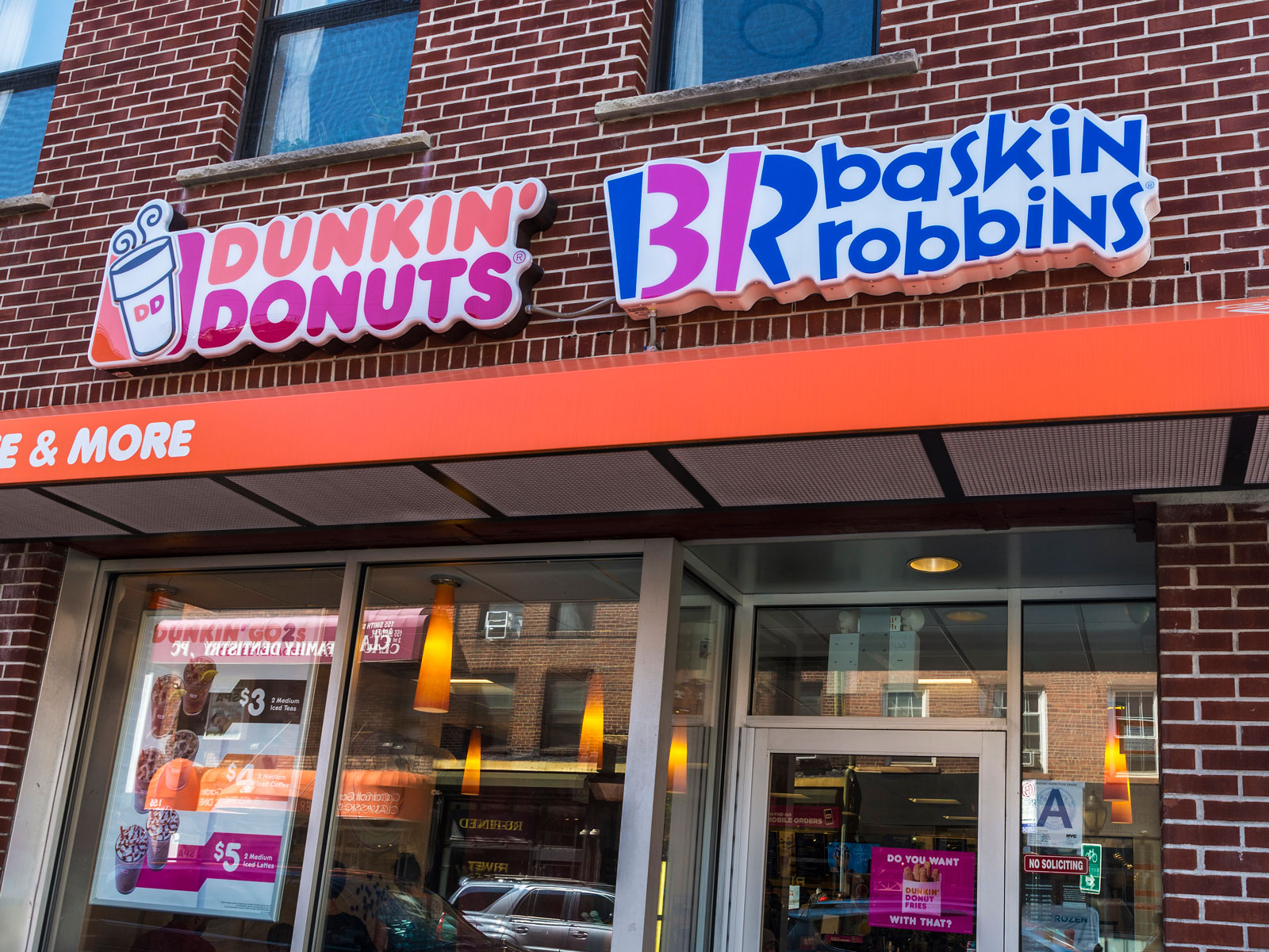 Affogatos (Finally) Arrive at Dunkin' and Baskin Robbins Combo Stores