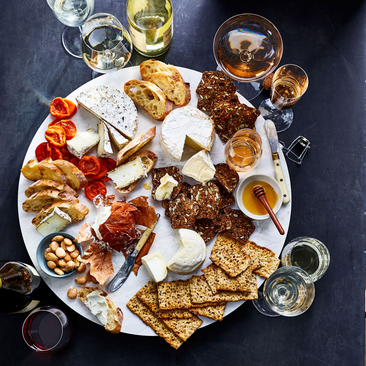4 Cheese and Wine Pairings for the Ultimate Spring Cheese Board
