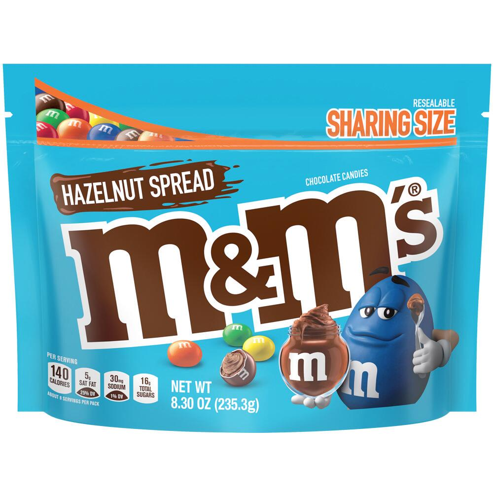 Hazelnut Spread M&M's Are Here, and They Taste Like Nutella