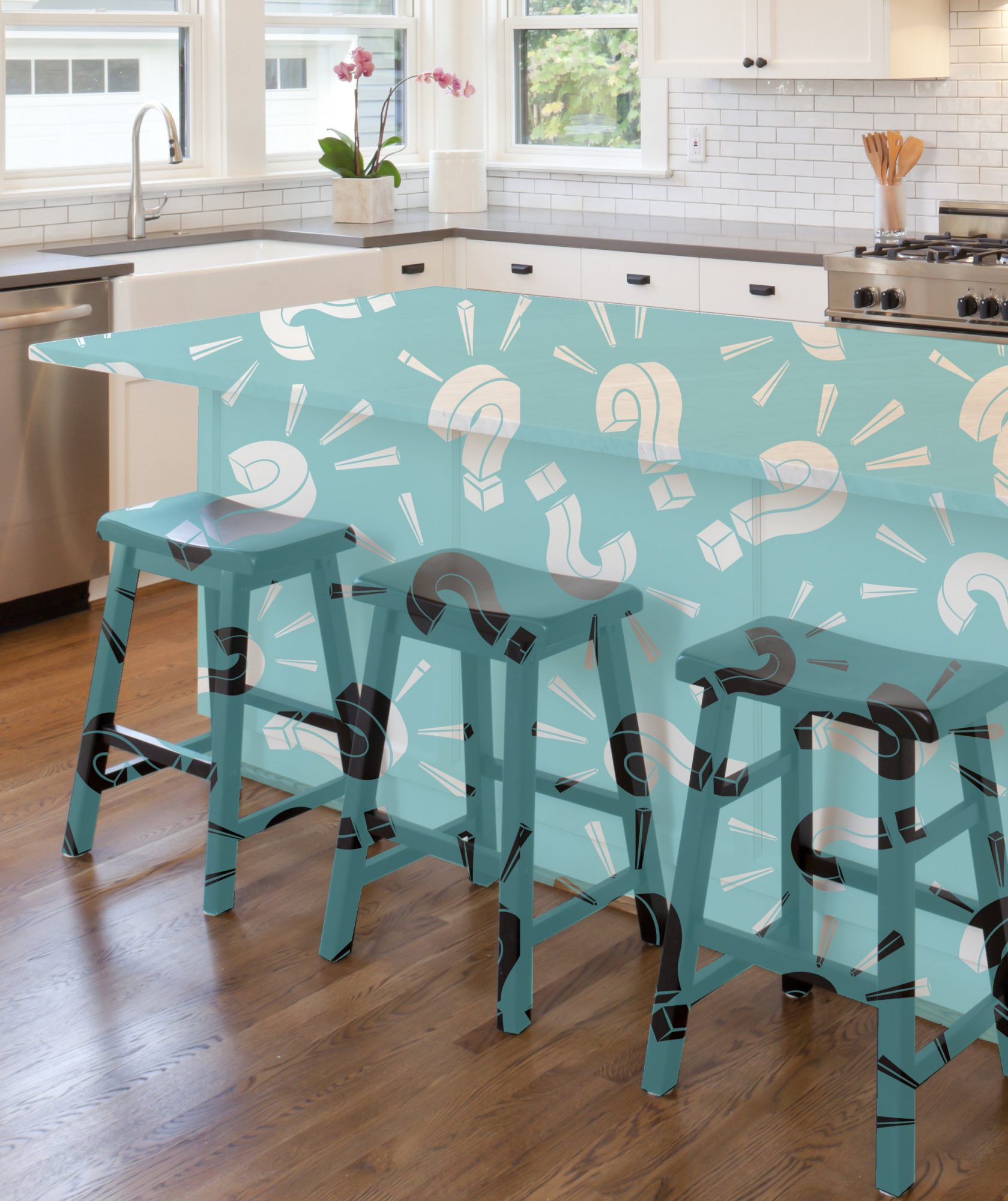 The Kitchen Island Trend You Probably Haven't Seen Before